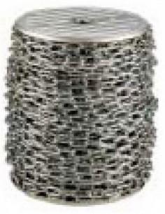 Zinc Chain Coil B00722 07-025Mt